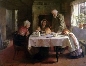 Mary Evalina Kindon - Grace Before Supper