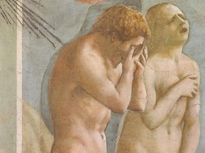 Masaccio - Expulsion from the Garden of Eden
