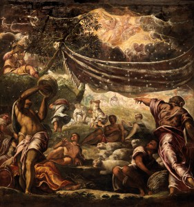 Tintoretto - The Miracle of Manna