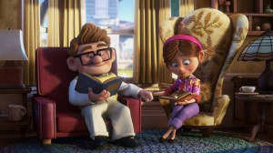 "Carl and Ellie from ""Up"""