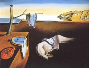 The Persistence of Memory — Salvadore Dalí