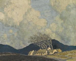 Paul Henry - Storm in Connemara