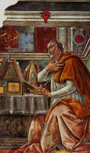 St. Augustine - Sandro Botticelli