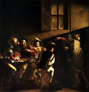The Calling of St. Matthew - Caravaggio