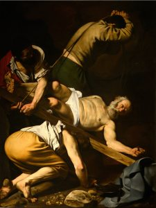 Crucifixion of St Peter - Caravaggio