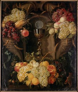 "Alexander Coosemans ""Allegory of the Eucharist"""