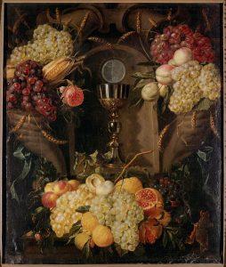 "Alexander Coosemans ""Allegory of the Eucharist"""